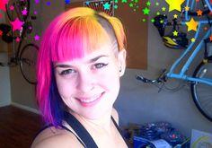still want rainbow hair