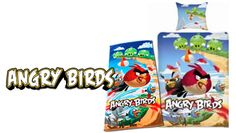 Angry birds bed sheets!