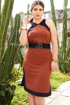 Textured Knit Dress   Havana Days Collection   Women's Plus Size Fashion   ELOQUII