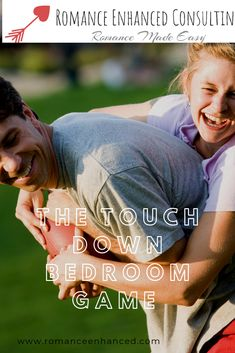 """In this fun and flirty bedroom game you try and work together to make a touchdown score, by following the cute and flirty football themed cards provided in the game!  You will both enjoy this bedroom game because it focuses on physical & emotional connection. Your husband will love the football themed bedroom game and he will also be learning how to also connect better with you emotionally!  So with this game you will both win and you will both receive a """" Major Score"""" for the evening as well! Football Themes, Football Fans, Games Football, Rekindle Romance, Bedroom Games, Holiday Invitations, Emotional Connection, Couple Games, Foreplay"""