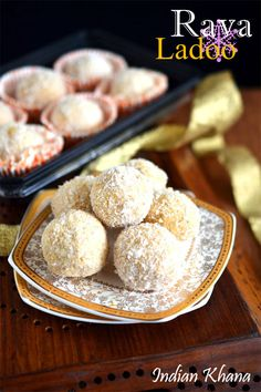 Rava Ladoo or Sooji Ladoo is easy, quick sweet made with semolina and sugar as main ingredient and perfect for any festivals like Diwali, Holi etc