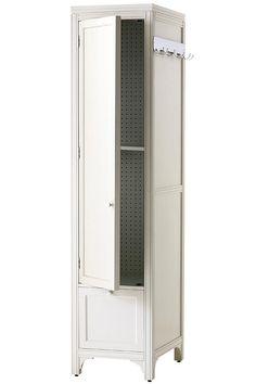 Martha Stewart Living™ Laundry Storage Utility Tower with Peg Board - Laundry Organization - Storage & Organization - Storage & Display | HomeDecorators.com