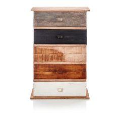 Kommode, Schubfächer, wiederaufbereitetes Holz   Kommoden   Möbel   Living