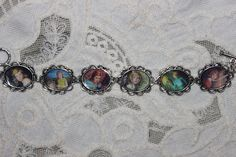 NANCY DREW BOOK COVERS art bracelet, you could do it with other pictures.