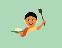 Branding a Homemade Food Tech Venture Indian Illustration, Cute Illustration, Rajasthani Art, Different Types Of Painting, Minimal Drawings, African Art Paintings, Clay Wall Art, Food Cartoon, Madhubani Art