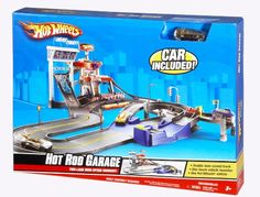 Hot Wheels Deluxe City Hot Rod Garage Playset ** To view further for this product, check out the photo link. (This is an affiliate link). Toddler Gifts, Kids Gifts, Carriage House Garage Doors, Garage Floor Plans, Activity Toys, Remote Control Cars, Garage Design, Educational Toys, Hot Wheels