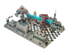 Fortress of Solitude: A LEGO® creation by Nannan Z. : MOCpages.com