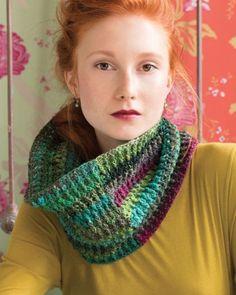 Double-Crochet Cowl from Noro Magazine #05   at KnittingFever.com
