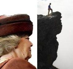 De Beatrix rots in Noorwegen... ;)