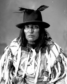 Bulls Head Old Sarcee Chief - Southern Alberta, Canada