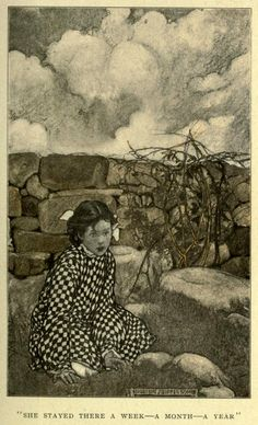 'The very small person' by Annie Hamilton Donnell; illustrated by Elizabeth Shippen Green. Published 1906 by Harper & Brothers, New York and London.