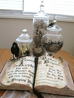 DIY spellbook & awesome ideas. I need to revisit this blog