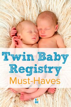 A minimalist's guide to twin baby registry must-haves. This list includes the essentials to caring for your twins, including what to get and how many. Perfect for your registry list!