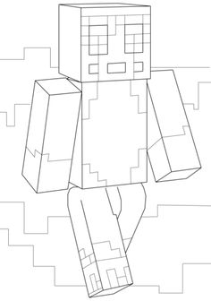 Minecraft Stampy coloring page from Minecraft category. Select from 20946 printable crafts of cartoons, nature, animals, Bible and many more.