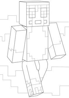 Malvorlagen von Minecraft Ausmalbilder TNT kostenlos ...