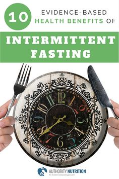 This is a detailed review of the health benefits of intermittent fasting. Studies show that it can cause weight loss and improve health in many ways. Learn more here: http://authoritynutrition.com/10-health-benefits-of-intermittent-fasting/