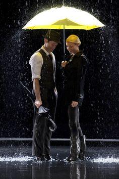 Singin in the Rain - Glee style