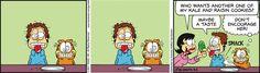 Garfield by Jim Davis for Mar 3, 2017 | Read Comic Strips at GoComics.com