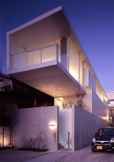 Contemporary Japanese house, Parabola house