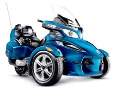 Can Am Spyder....I want one!!