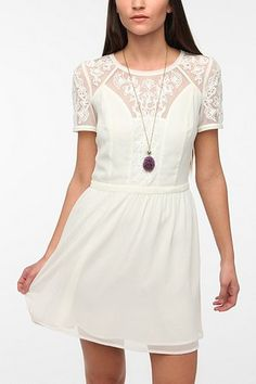 Kimchi Emma Crepe Dress - Urban Outfitters