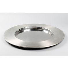 Timo Sarpaneva, terästarjotin, OPA. Plates, Tableware, Licence Plates, Dishes, Dinnerware, Griddles, Tablewares, Dish, Place Settings