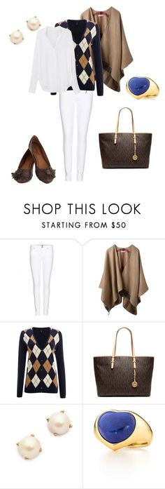 """""""Sin título #126"""" by adelprado ❤ liked on Polyvore featuring Paige Denim, Burberry, Lands' End, MICHAEL Michael Kors, Kate Spade and Elsa Peretti"""