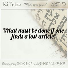"There is no ""finders keepers"" according to Torah. If a lost article is found, you are obligated to return it. If the owner is not known, you are to hold it in your home until the owner is found. If it is perishable, you may sell the item and hold the money for the owner. A public announcement should be made generally describing the item in hopes the owner will come for it.  #LearnYourTorah #ItsAllAboutYeshua #KiTetze"