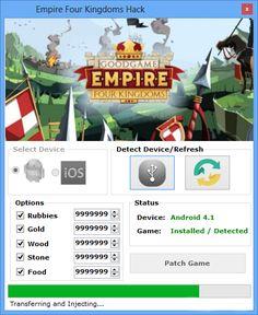 Empire Four Kingdoms Hack