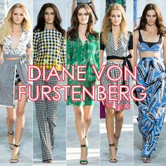 THE BEST OF NYFW: DIANE VON FURSTENBURG GOES GAGA FOR GINGHAM & COLORFUL ACCENTS