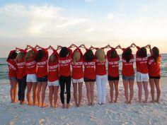 AOII football spirit jersey love