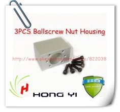 68.00$  Watch here - http://ali96x.shopchina.info/go.php?t=1493263825 - 3pcs Ballscrew Nut Housing Bracket Holder For SFU2005 & SFU2004 & SFU2010 & SFU2020&RM2005  (Only Ball screw Nut  Housing )  #magazineonline