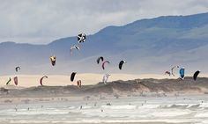 So much fun to watch or participate! Kiteboarding takes flight in Pismo Beach