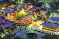 Namsan Hanok Village in Soul, Korea