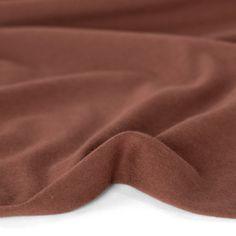 Cotton Modal Jersey Knit - Baked Clay   Blackbird Fabrics Baking Clay, Needle And Thread, Blackbird, Knitting, Fabrics, How To Wear, Cotton, Yarns, Mauve