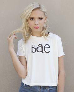 "Jordyn's ""Bae"" Shirt – Pearl Yukiko"
