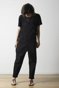 Long Strap Canvas Overall by Base Range