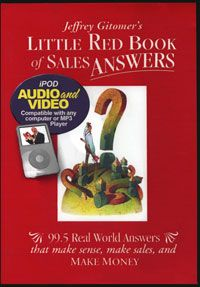 Jeffrey Gitomer's Little Red Book of Sales Answers iPod Video