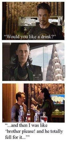 How avengers would have ended if Loki accepted that drink