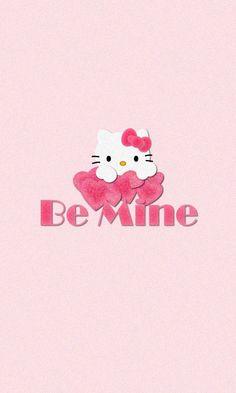 Hello Kitty Pink Love iPhone Wallpaper Lock Screen