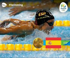 Swimming, Women's 200m Butterfly - Mireia Belmonte, Spain - Rio Olympics 2016