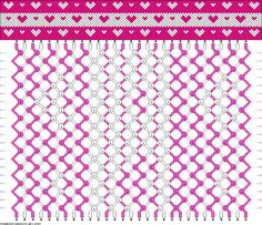 Friendship Bracelet Pattern 15257 new