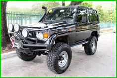 1987 TOYOTA LAND CRUISER LJ 70 LIFTED 4CYL TURBO DIESEL RUST FREE