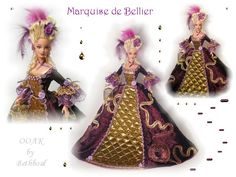 Marquise de Bellier  Designed By Bethboul