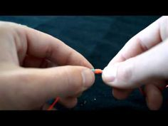 Nail Knot Video | Tying Nail Knots Without a Tool Video
