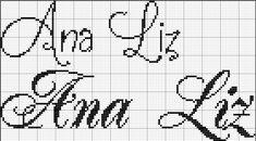Ana Liz nome ponto cruz