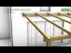 Design of a roof addition over an existing concrete patio in Bozeman, MT part 1 - YouTube