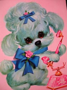 I normally pin 'black' poodles, but this one was just too cute not to save it