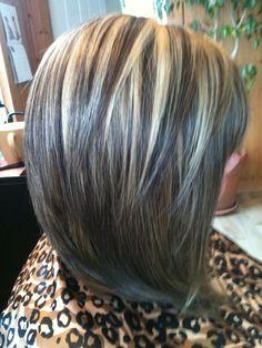 ... Highlights, Hair Color Ideas, Hair Style, Bobs Highlights Lowlights