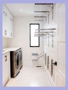 Laundry design ideas with drying room that you must try 02 Laundry Room Remodel, Laundry Room Cabinets, Laundry Room Organization, Organization Ideas, Storage Ideas, Laundry Closet, Laundry Storage, Diy Cabinets, Organizing Tips